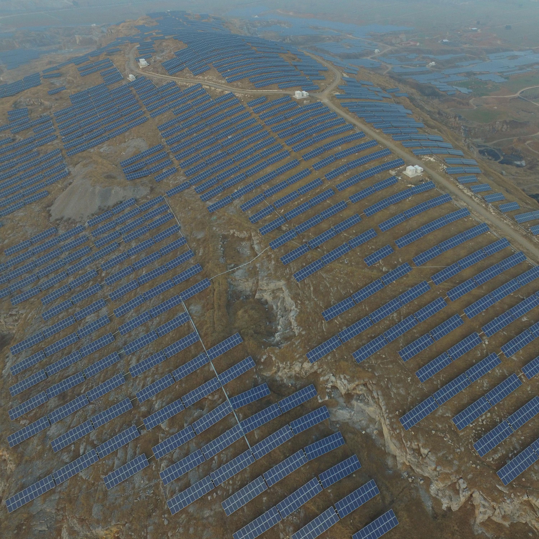 深圳能源泗縣山丘電站太陽能發電項目
