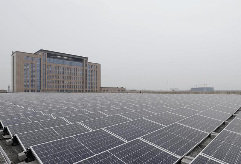 三菱鹽城工商業屋頂太陽能發電項目