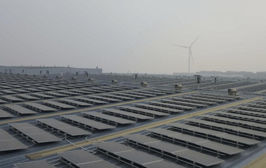 精工能源濰坊工商業屋頂太陽能發電項目