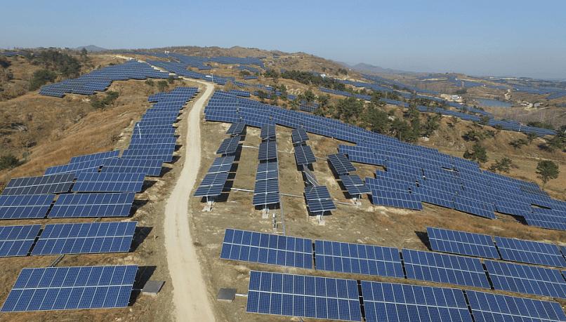 富士康南陽山丘電站太陽能發電項目