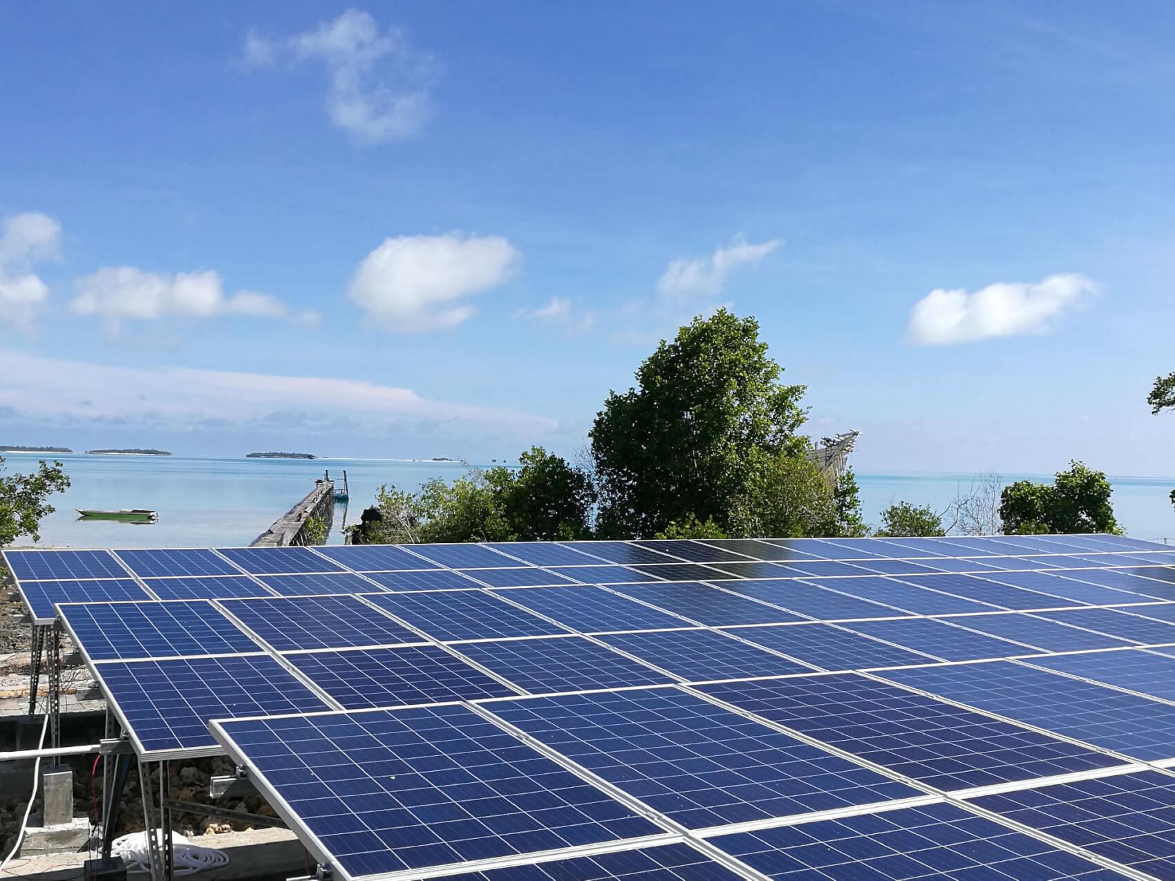印尼海島太陽能離網發電項目