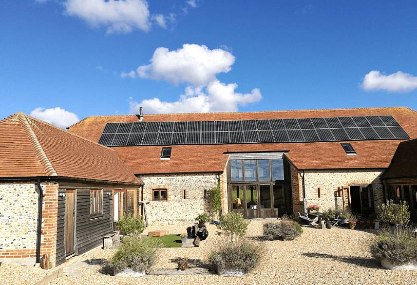 英國戶用太陽能儲能發電項目
