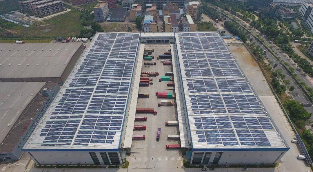 京東物流園太陽能發電項目