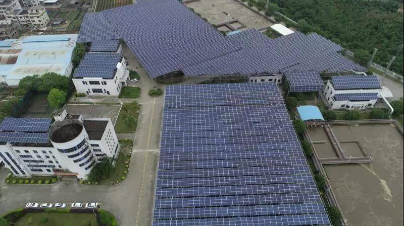 水處理廠太陽能發電項目案例