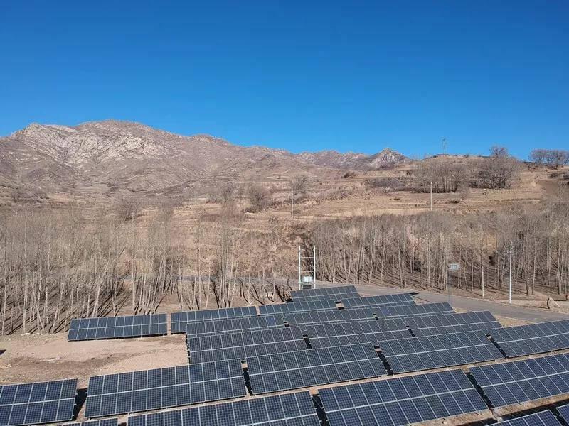 山西忻州市靜樂縣村級太陽能扶貧電站項目