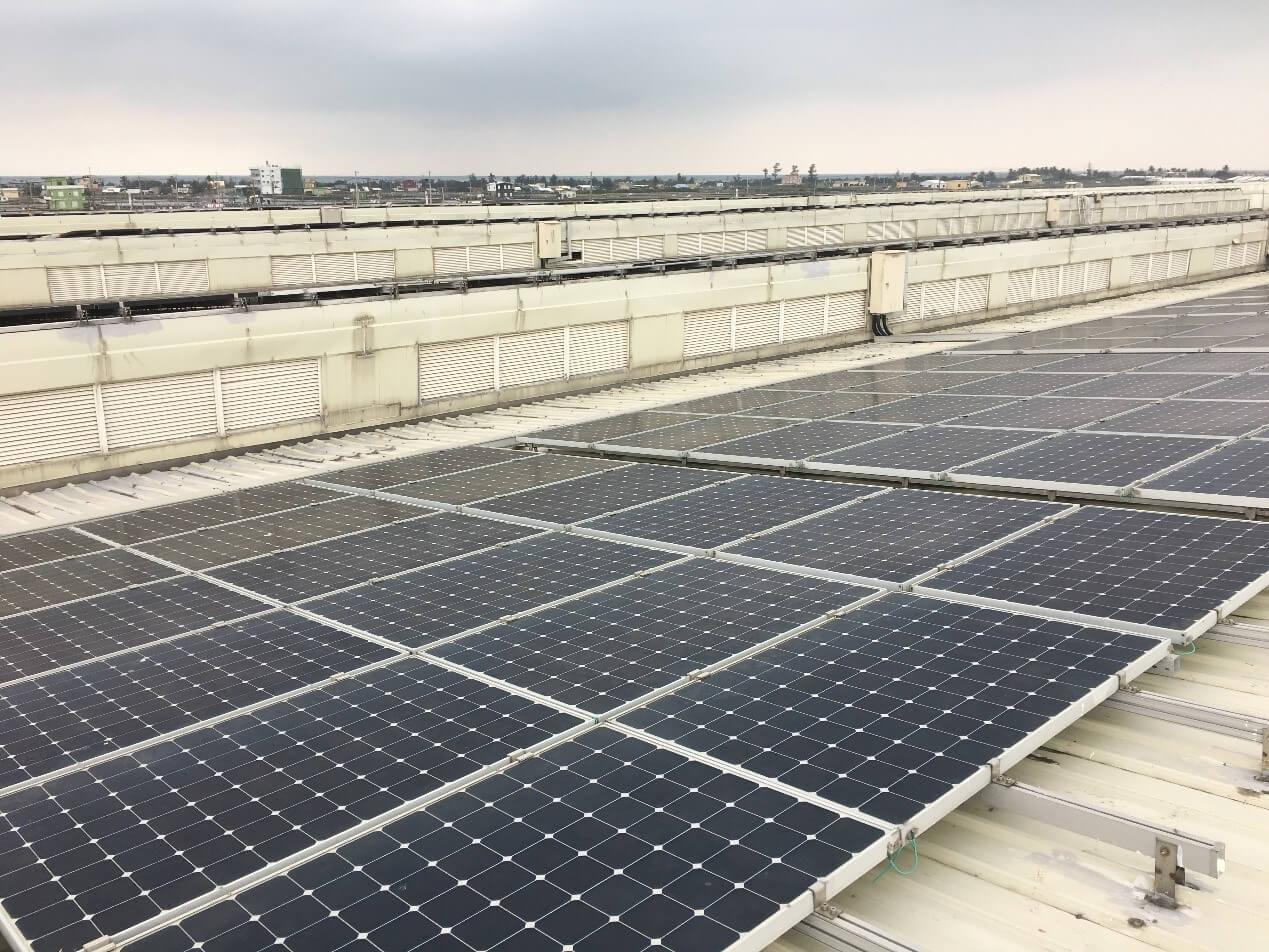 屏東縣水產養殖廠屋頂型太陽能發電項目
