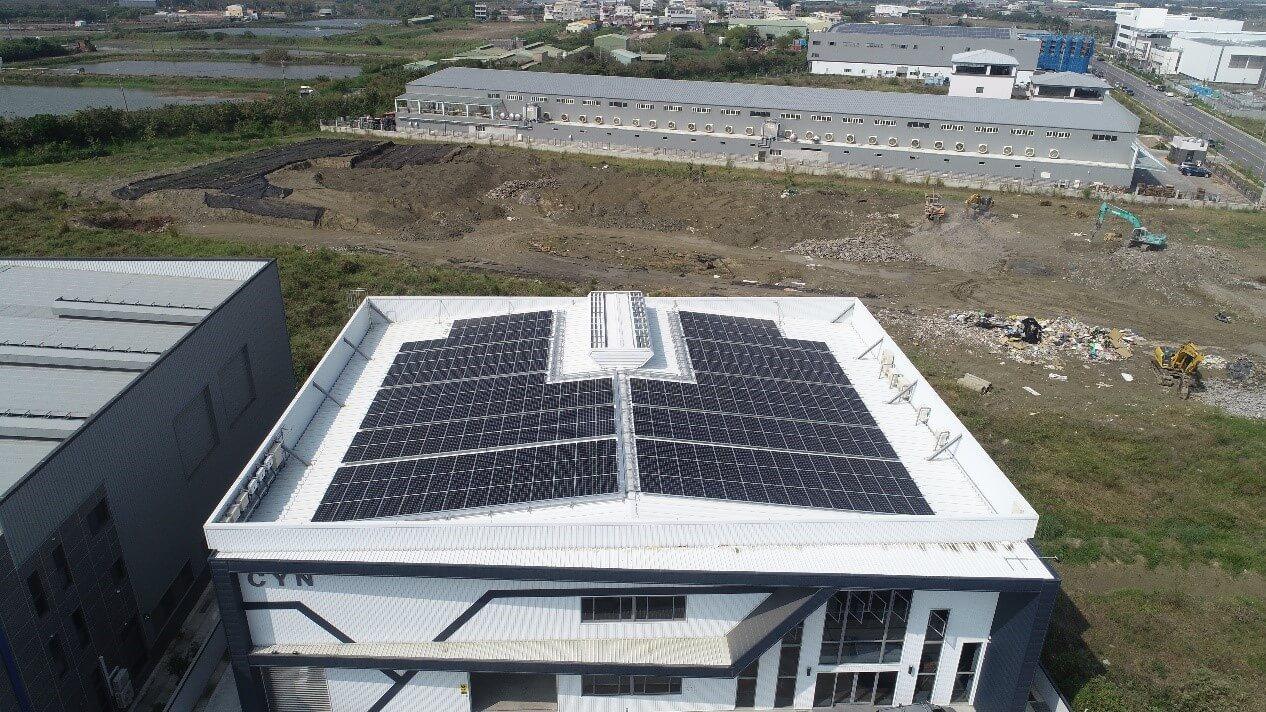 台南市機械工廠屋頂型太陽能發電項目