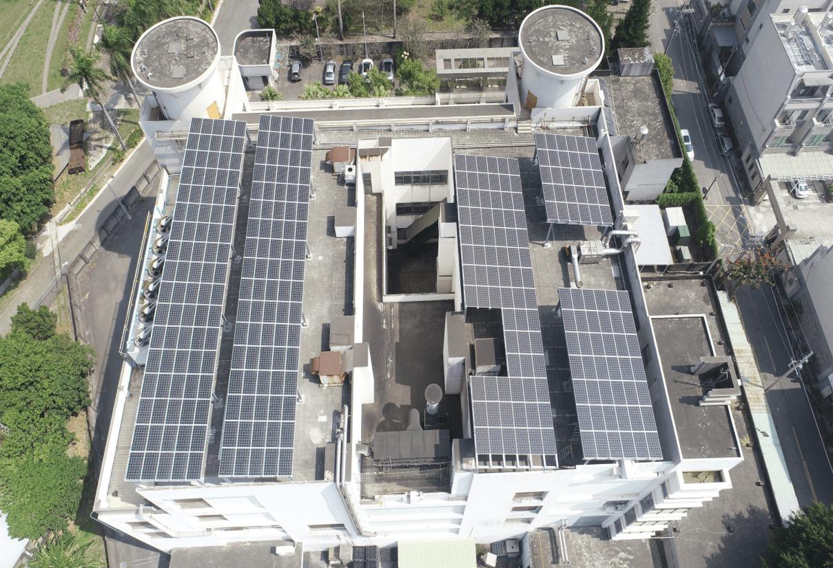 台南市半導體工廠屋頂型太陽能發電項目
