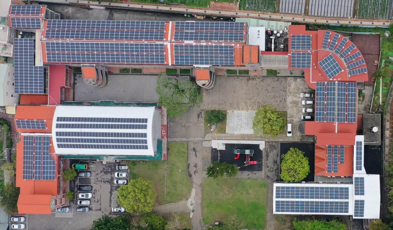 苗栗縣國民小學屋頂型太陽能發電項目